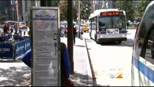 MTA Bus Times
