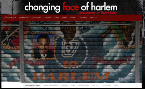 The Changing Face of Harlem