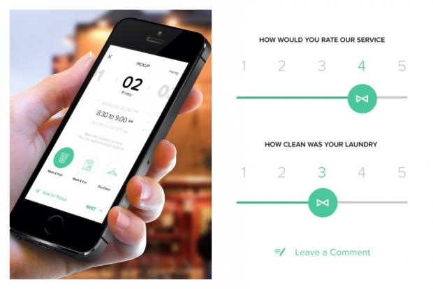 Cleanly, a new laundry app nyc
