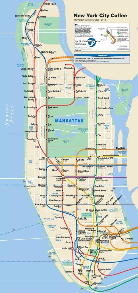 Manhattan Cafe Coffee Shops