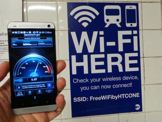 NYC MTA Wifi Subway