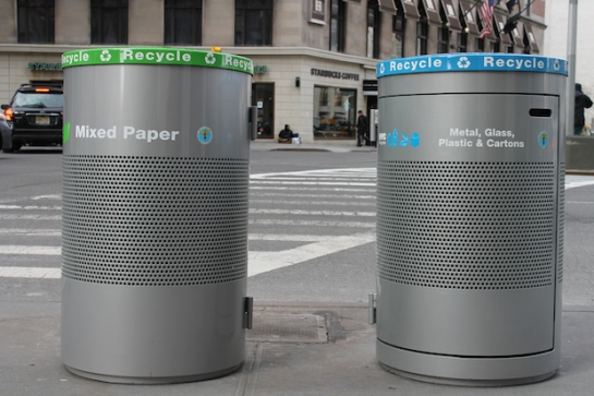 High-End Recycling Bins