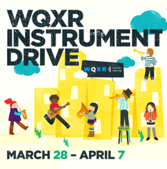 WQXR's First Ever Instrument Drive To Collect Donations Of Musical Instruments for NYC Music Programs!