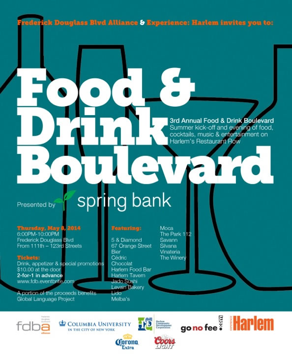 3RD ANNUAL FOOD & DRINK BOULEVARD