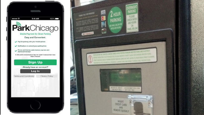 Chicago Parking Meter App