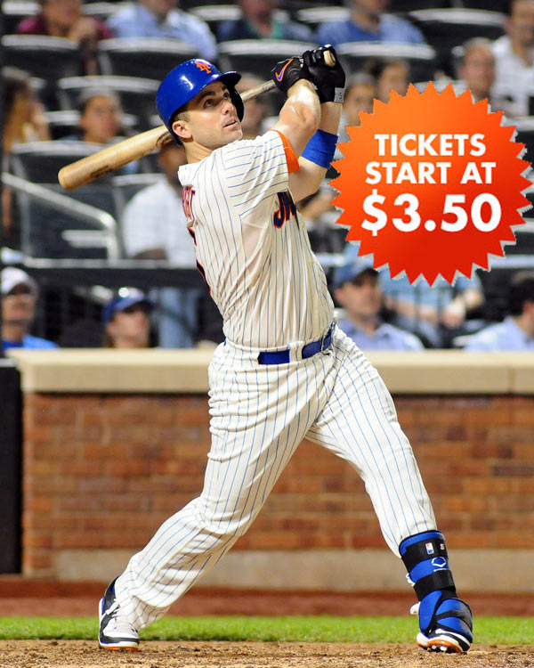 Mets Baseball Tickets $3.50