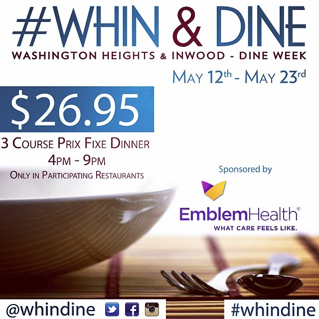 WHIN and Dine  Week