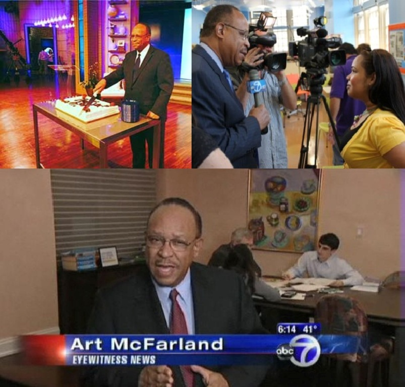 NEW YORK WABC-TV Salutes Retiring Reporter Art McFarland