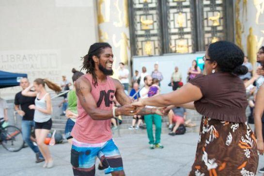 Grand Army Plaza Brooklyn Dance