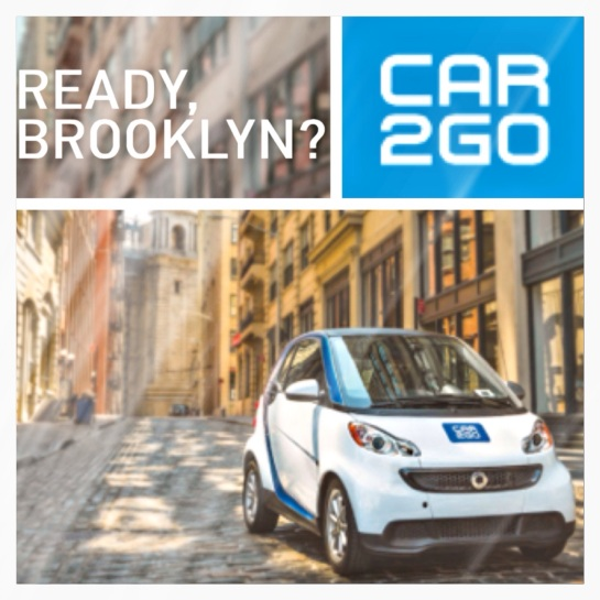 CarSharing car2go Is Coming To Brooklyn!