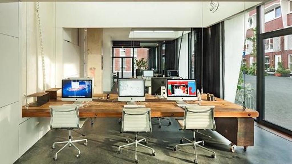 disappearingoffice desk