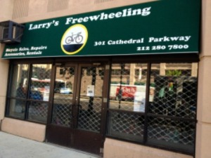 Larry's Freewheeling Bicycle Shop now open in Harlem