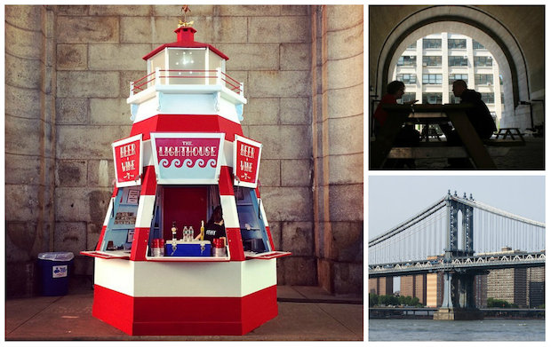 Superfine Owners Open Beer Kiosk Under the Manhattan Bridge