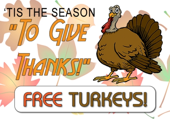 Where to Get a Free Thanksgiving Turkey In Harlem!