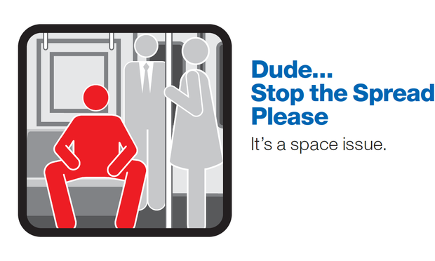 The MTA's New Subway Etiquette Campaign Focuses On Spatial Awareness!