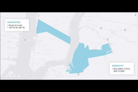 Uber Offers $5 Rides Between Manhattan and W'Burg During L Train Shutdown
