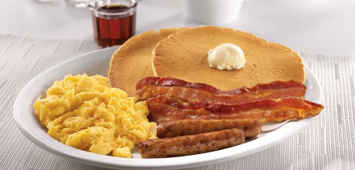 Denny's in Brooklyn is giving away free breakfast