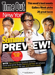 Time Out NY has the best NYC events and things to do…..restaurants, theater and nightlife.