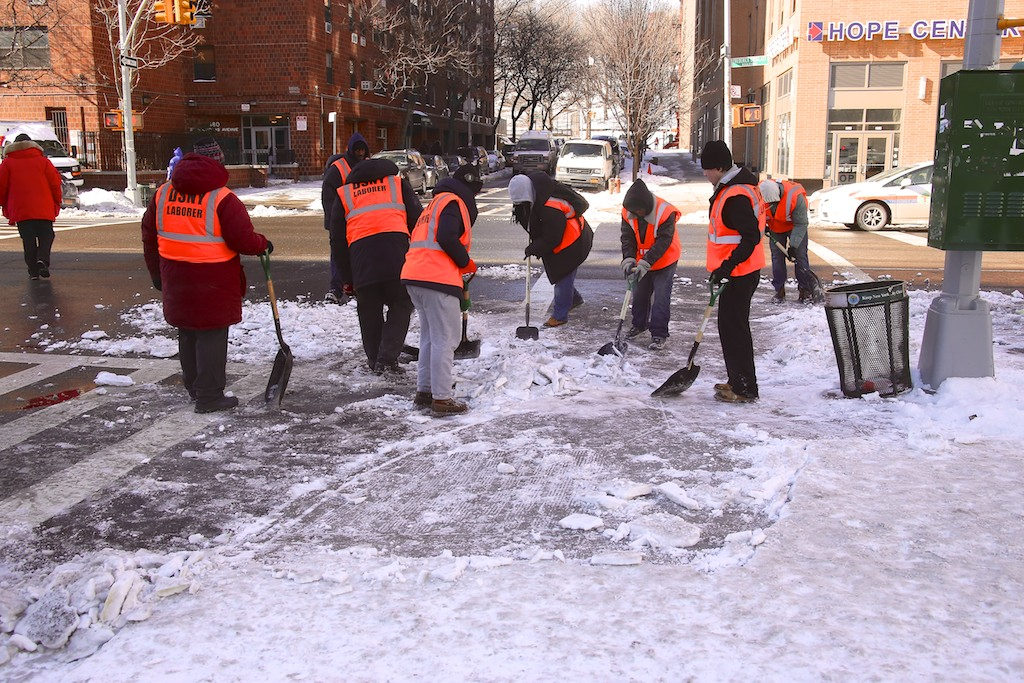 Earn $13.50 an Hour as an Emergency Snow Laborer This Winter