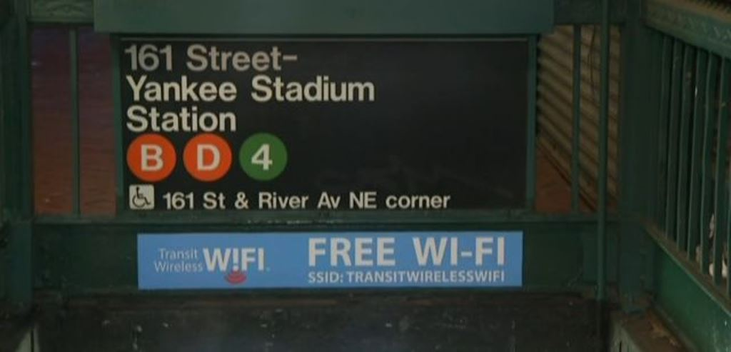 MTA Extends Wireless Service To Every Underground Bronx Subway Station!