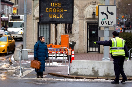NYPD to Ticket Jaywalking Pedestrians for Their Own Safety