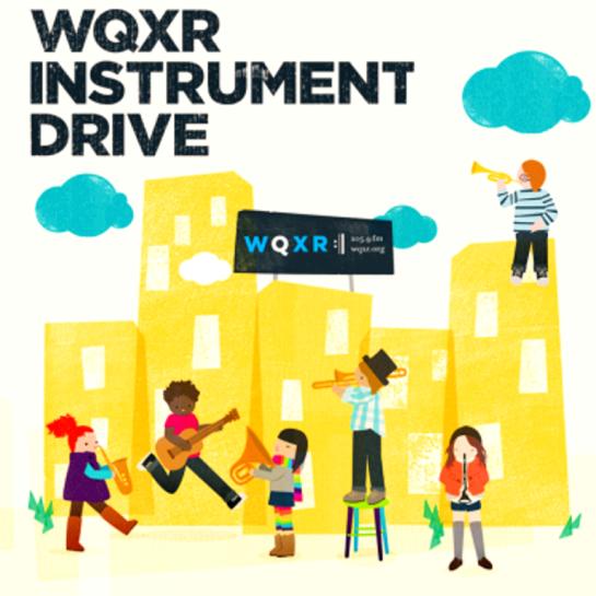 WQXR Announces Second Instrument Drive To Collect Musical Instruments!