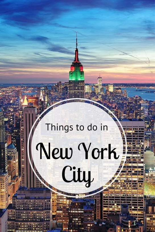 Discover Things To Do In New York City Over The Summer!