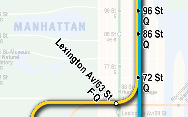 MTA Adds Second Avenue Subway Line to its Maps