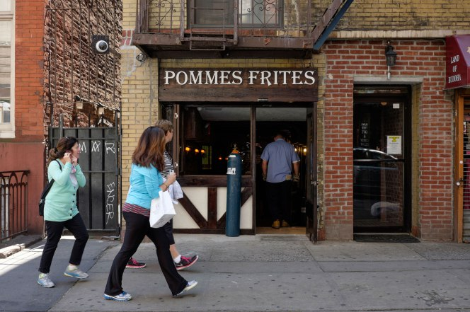 NYC Famous French Fry Specialist Pommes Frites Has Re-Opened!