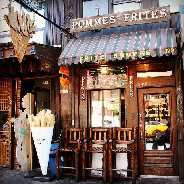 NYC Famous French Fry Specialist Pommes Frites Has Re-Opened1