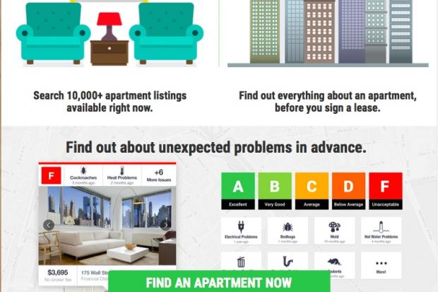 New Site Compiles Letter Grades For NYC Rental Buildings