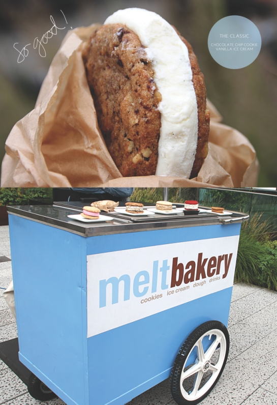 Get free Melt Bakery ice cream sandwiches and free babysitting this weekend
